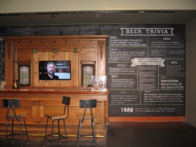 Bar at the Museum's exhibit (Now closed)