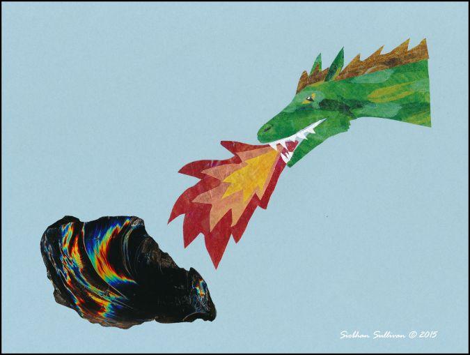 Dragon Glass collage