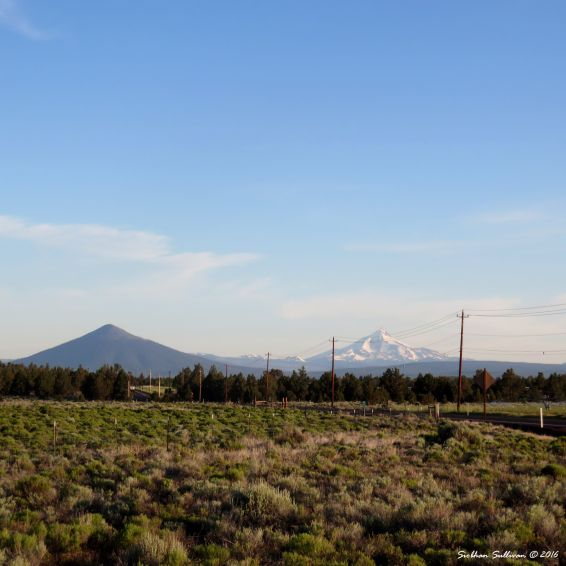 Black Butte & Mt Jefferson, Oregon