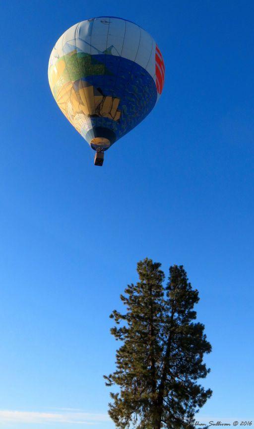 Art Aloft balloon in Bend, OR 23 July 2016