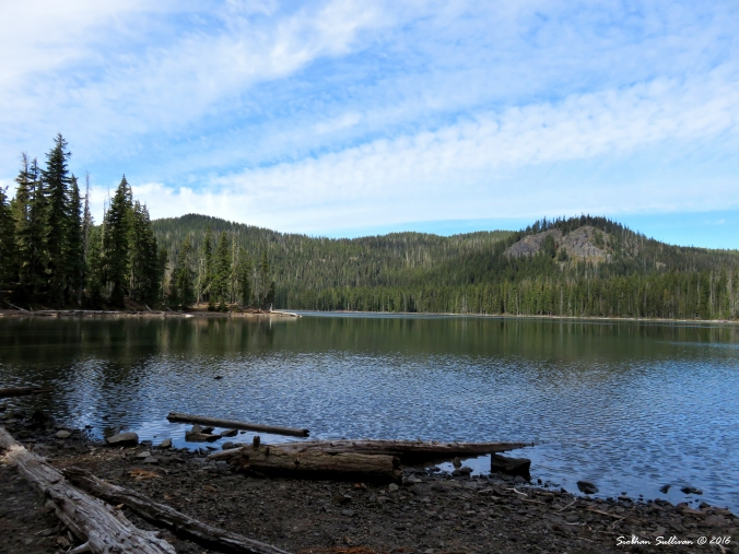 Doris Lake, Oregon 20Sept2016