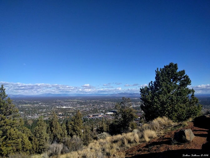 Powell Butte & the Ochoco Mountains to the East October 2016