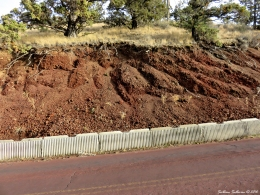Roadcut on Pilot Butte October 2016